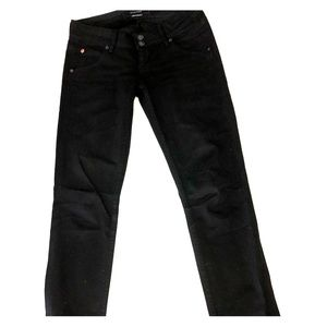 Hudson Jeans, flap pocket, size 25, black denim
